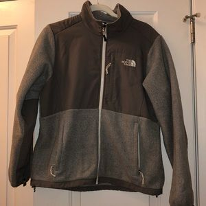 North Face Denali Grey Jacket